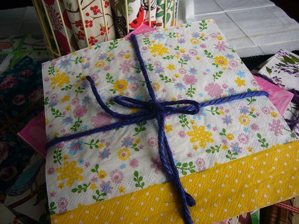 蝶古巴特普普餐巾紙CCC001~暖黃小花