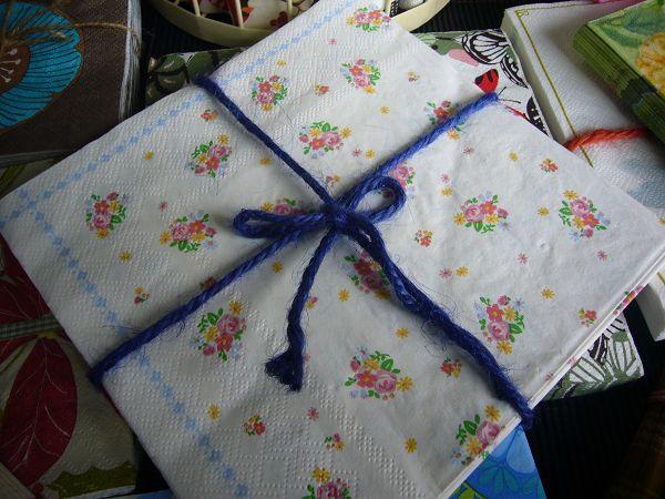 蝶古巴特植花餐巾紙CAA004~小巧花束