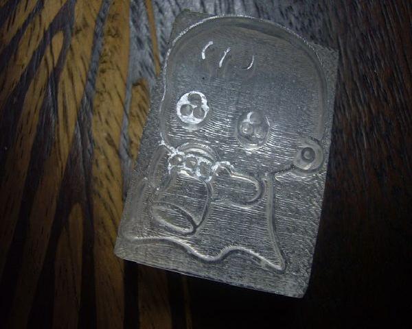 品 名 100-51透明壓克力皂章 寶寶奶瓶*1....代購