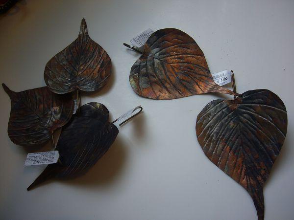 鏽鐵片造型葉子*1片