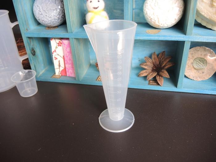 C1酒杯型塑膠量杯(100cc)*1