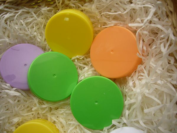 20g彩色分裝扁圓小盒-1      100個*1...可幫您代購