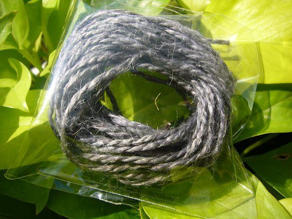 麻繩-6   鐵灰麻繩*10公尺