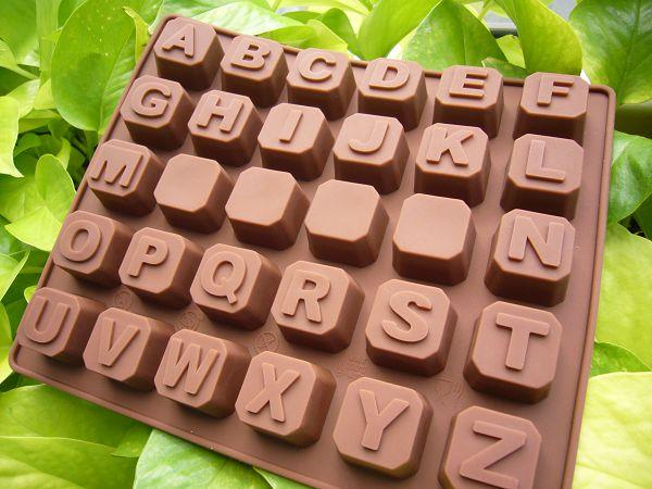 30-1 30孔矽膠模-鍵盤英文字母*1...可下單代購