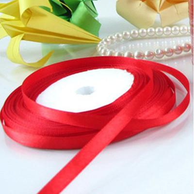 緞帶-16 紅色緞帶(寬1cm)*1卷(25碼)
