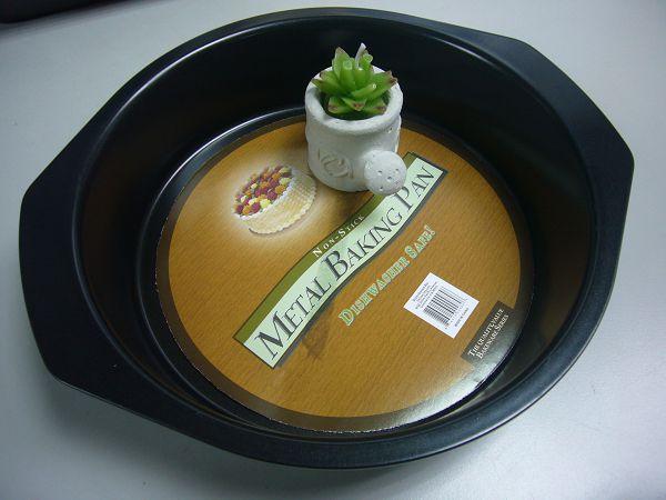 蛋糕烤盤-3  8寸圓型雙耳蛋糕烤盤*1