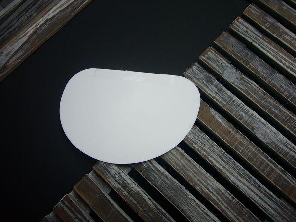 刮板-4 塑料刮板(半圓)*1