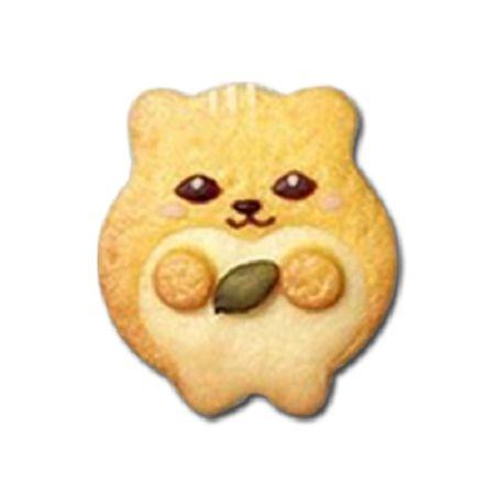 森林系餅乾模-4  創鼠兄弟卡通餅乾模*1