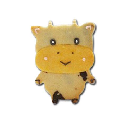 森林系餅乾模-6  浣熊小松餅乾模*1