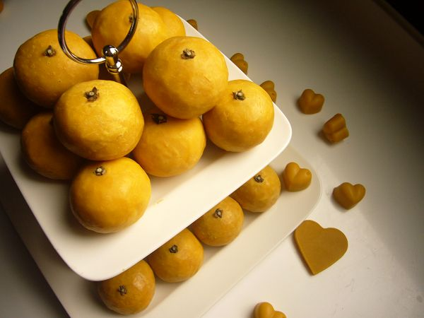 cp造型皂-1  大吉大利橘子皂教學課程*1