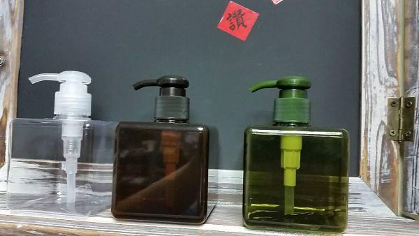 乳液瓶-4 四方瓶250ml(咖色)*1