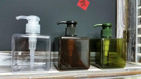 乳液瓶-5 四方瓶250ml(透明)*1
