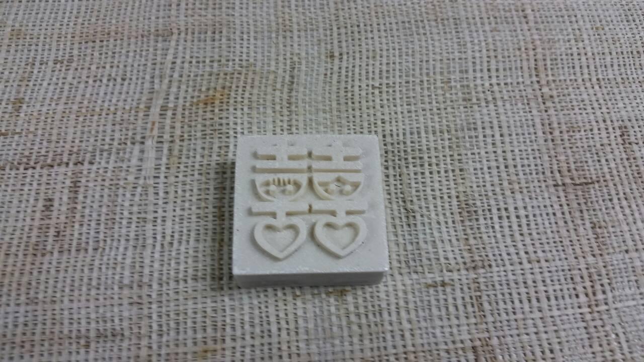 樹脂皂-7 囍*1