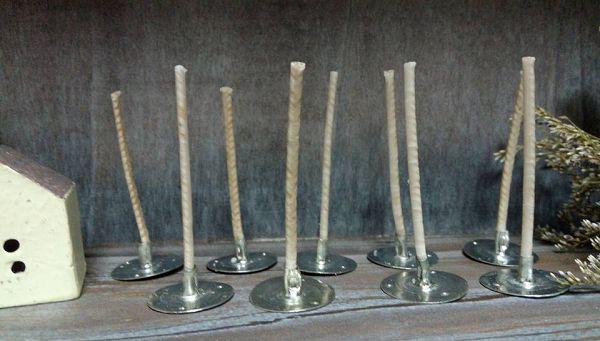 進口蠟燭棉芯-1   含底座蠟燭棉芯5cm(10支)*1