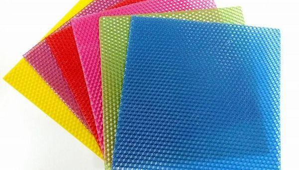 蜂蠟片-3 小片彩色蜂蠟片*1包(6小片裝)