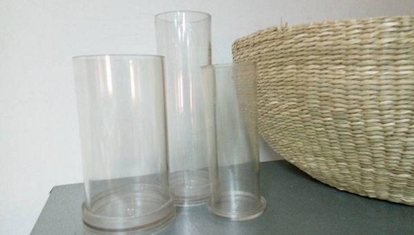 蠟燭圓柱模具-5 圓柱型蠟燭模具*1