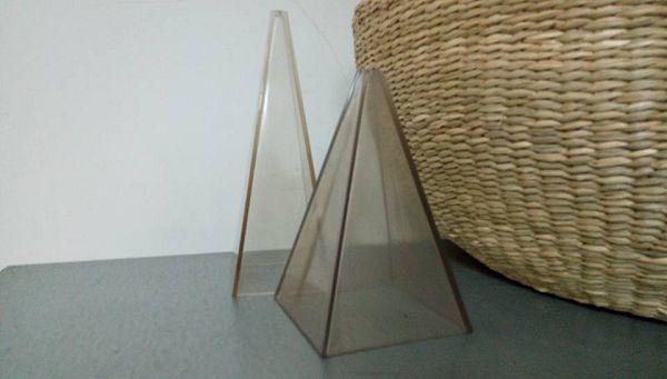 錐型蠟燭模具-2 矮胖方錐型蠟模具*1燭