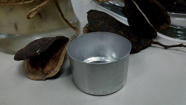 茶蠟杯-2  大茶蠟杯(鋁殼)50個*1