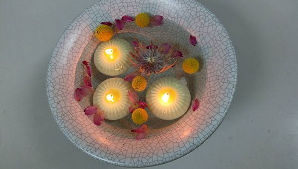 水作蠟燭浮水蠟燭模-1 水作蠟燭浮水蠟燭模(5.5*2.8cm)小*1