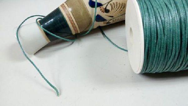 香磚繩-2  蠟繩綠色5公尺*1