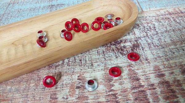 小鐵環-4    小鐵環(紅色50入)*1袋
