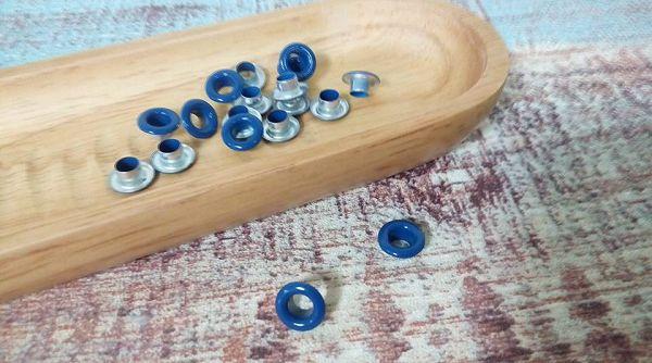 小鐵環-5    小鐵環(深藍色50入)*1袋
