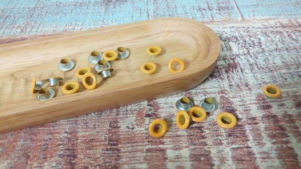 小鐵環-7   小鐵環(黃色50入)*1袋