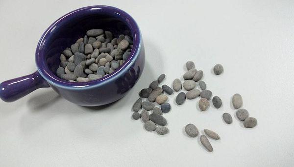 小石類-9  黑珍珠100克*1
