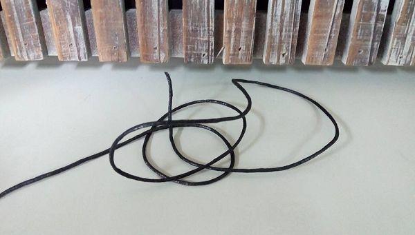 香磚繩-3 蠟繩黑色5公尺*1