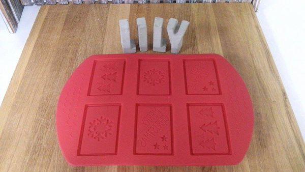 6-112 六孔矽膠模~餅乾模(薄片)*1