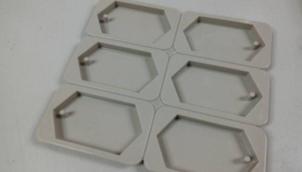 香磚模-3 6邊菱形香磚矽膠模*1