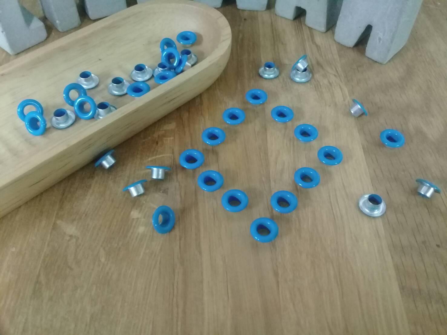 小鐵環-16    小鐵環(天藍色50入)*1袋