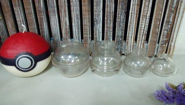 手作蠟燭模具-5 星球蠟燭球型蠟燭模具(4*4cm)*1