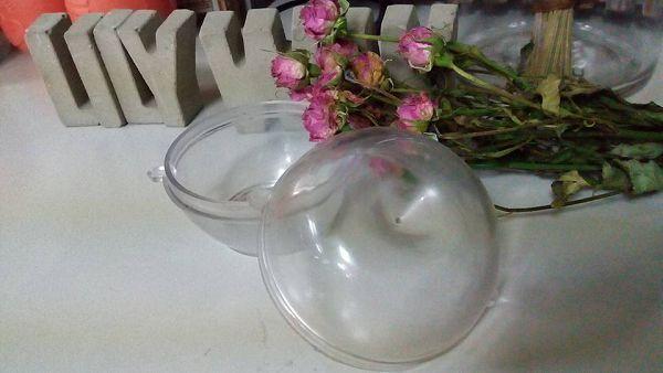 手作蠟燭模具-7  手作蠟燭蘋果造型蠟燭模具(6*7cm)*1