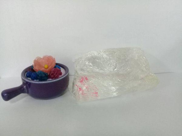 透明果凍蠟-1 透明果凍蠟500克*1包
