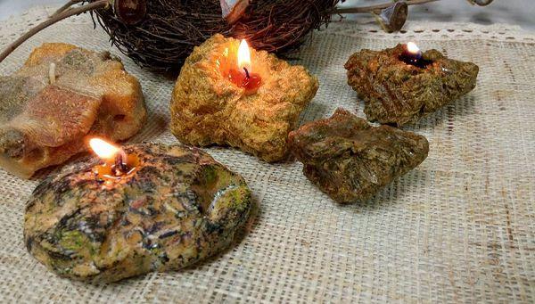 石頭蠟燭課程-2(進階自由創作)