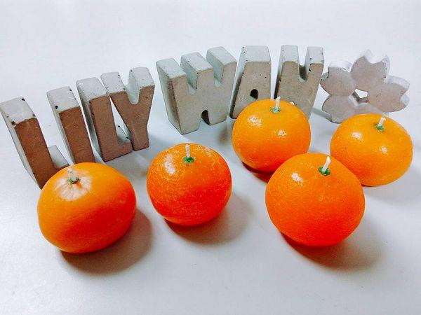 進階蠟燭班-1  橘子蠟燭*1