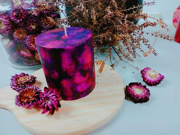 高階班蠟燭-1 水彩蠟燭