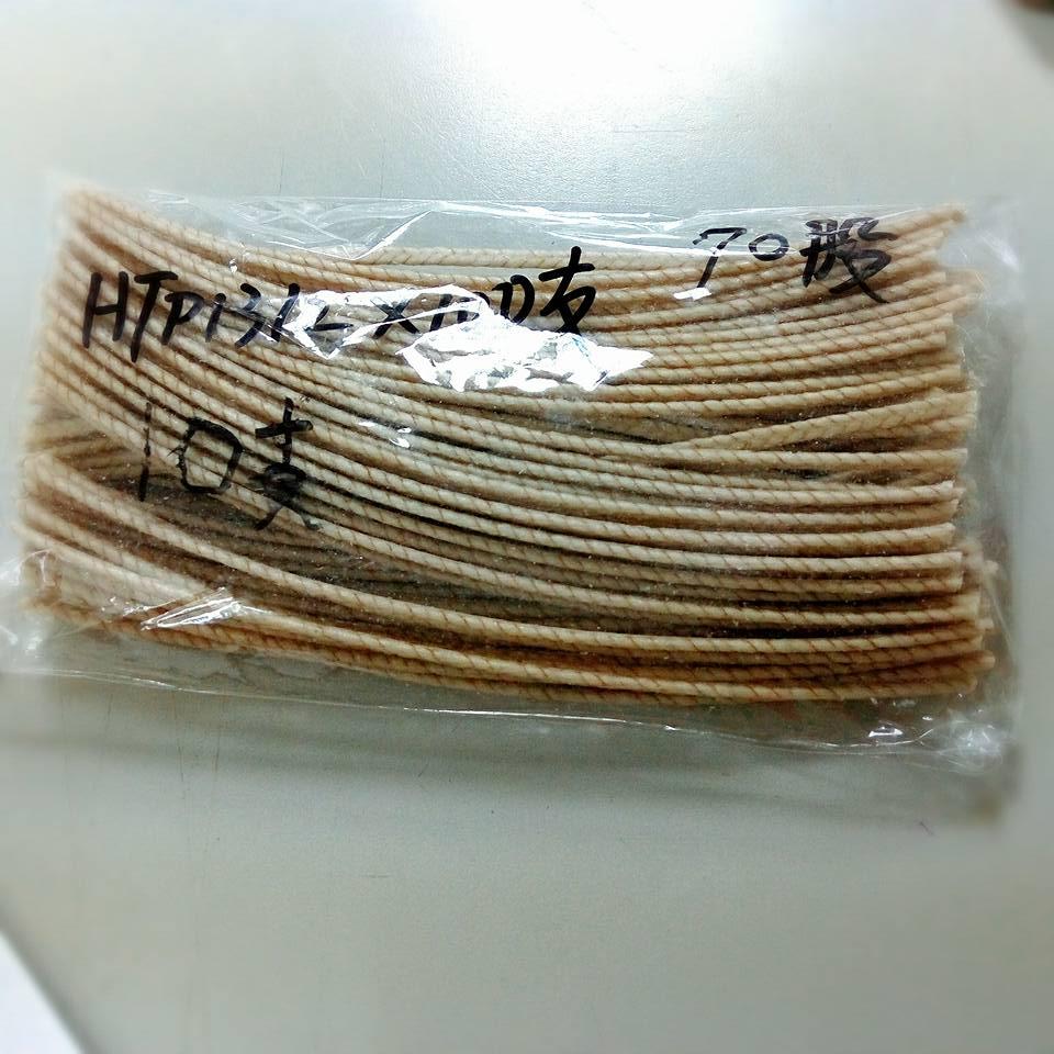 HTP1312進口大豆蠟棉芯-4  長15公分70股*10支