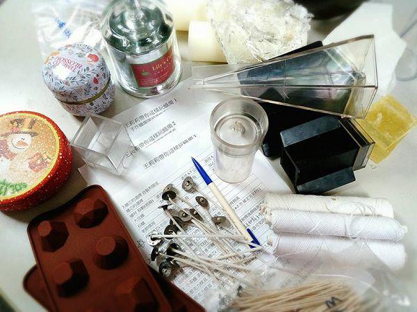 蠟燭小課程-9-1 假日班手作蠟燭課程統整概念-(手作蠟燭課程概念約150分鐘)*1